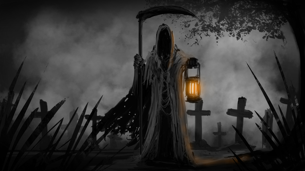 Dreams about Death - By Aceross Lord Royalty-free stock illustration ID: 587310263