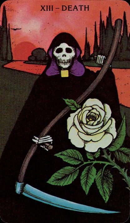 Dreams about Death - Morgan Greer Tarot deck Death Card