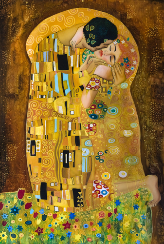 Dreams about Kissing | The Kiss Painting by Gustav Klimt
