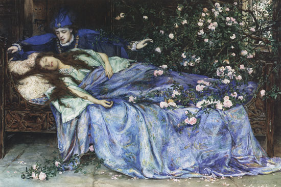 Dreams About Kissing | Sleeping Beauty - Henry Meynell Rheam