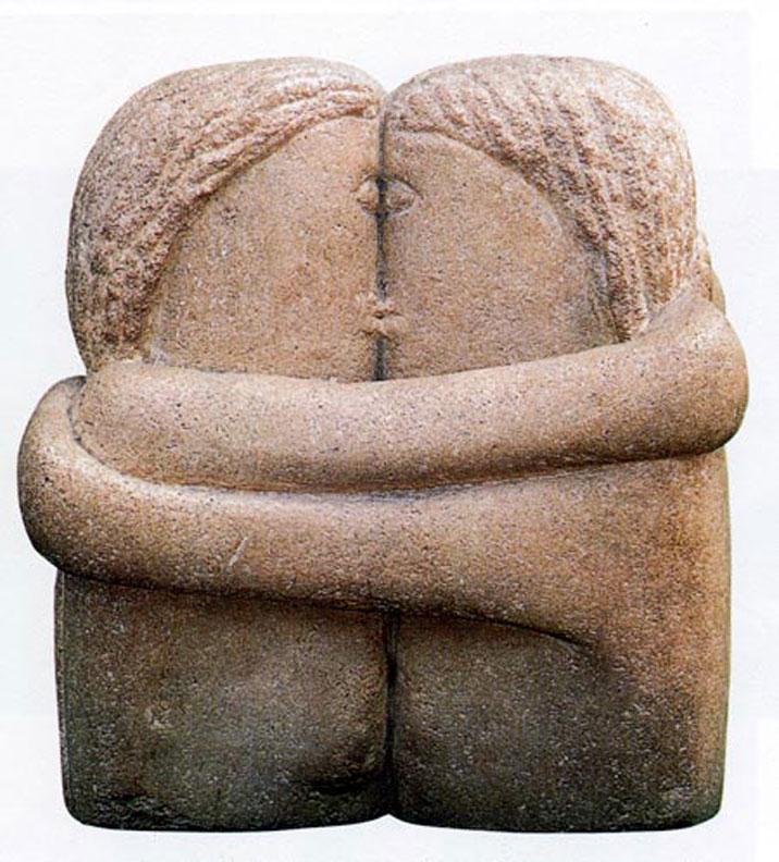 Kissing in Dreams | The Kiss (Brâncuși sculpture)