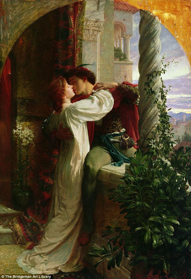 Dreams About Kissing | Romeo and Juliet by Sir Francis Dicksee
