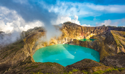 Dreams About Being Lost: Volcanic Lake