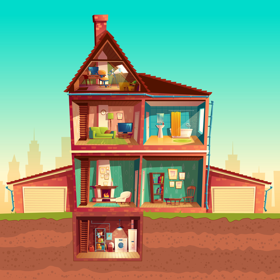 Dreams About Houses: Many levels of being