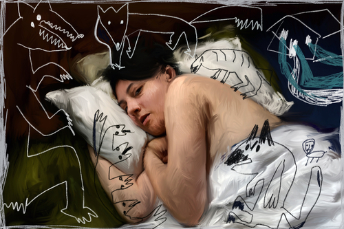 Dreams About Being Chased: Nightmare imagery